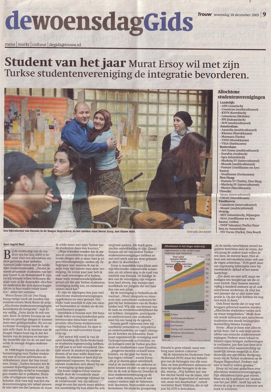 trouw amsterdam krant